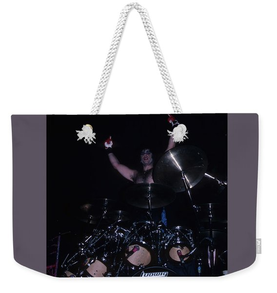 A.j. Pero Of Twisted Sister Weekender Tote Bag