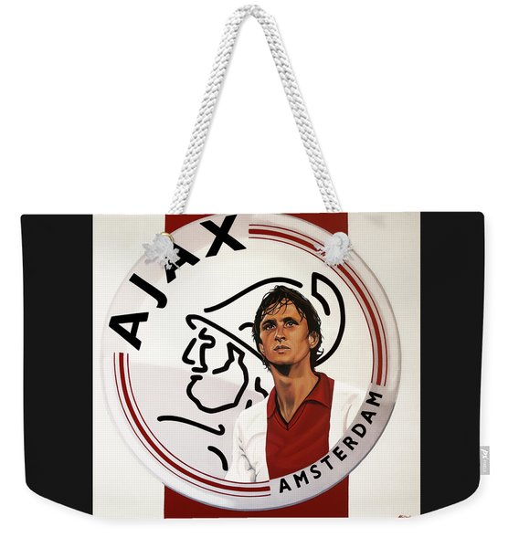 Ajax Amsterdam Painting Weekender Tote Bag