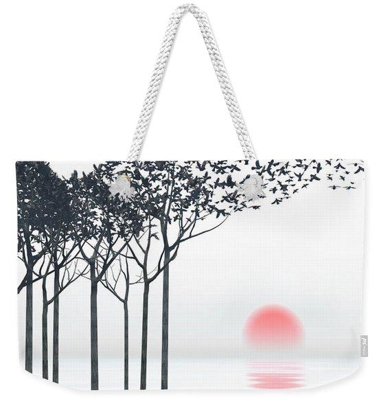 Aki Weekender Tote Bag