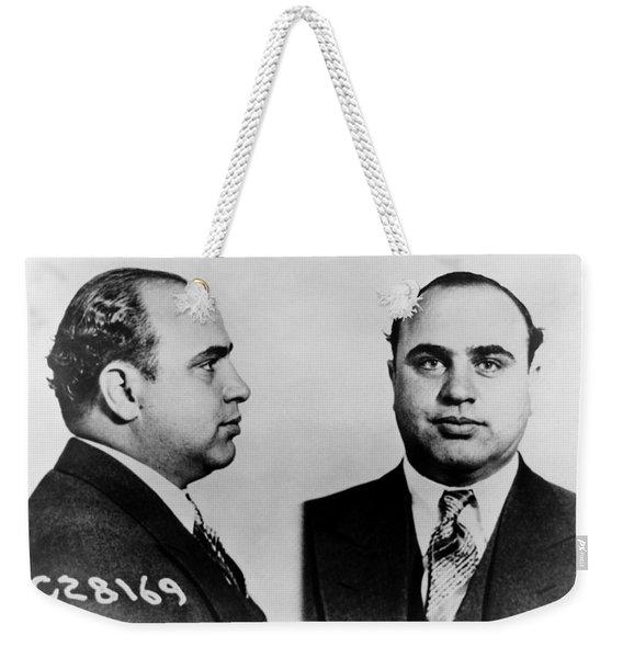 Al Capone Mugshot Weekender Tote Bag