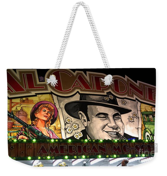 Al Capone On Funfair Weekender Tote Bag