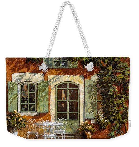 Al Fresco In Cortile Weekender Tote Bag