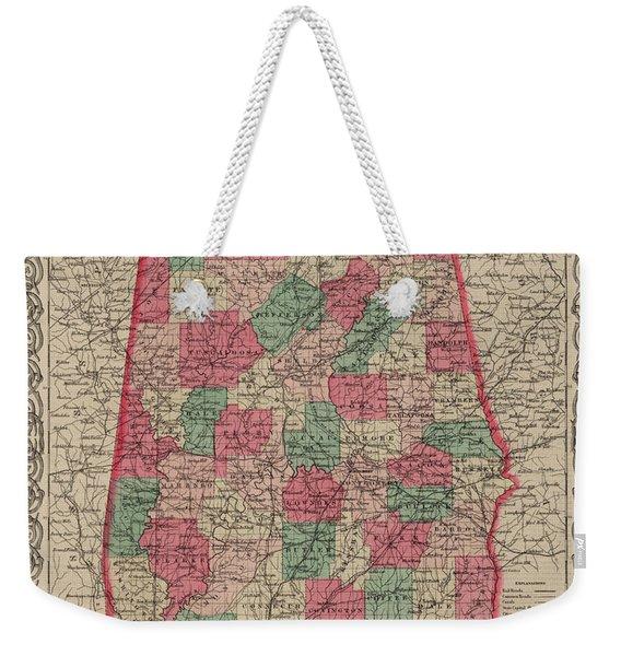 Alabama Weekender Tote Bag
