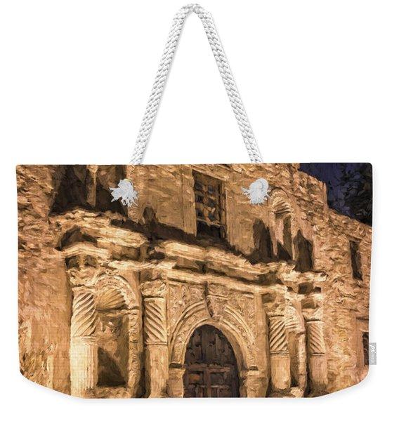 Alamo Door Painterly Weekender Tote Bag