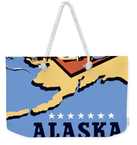Alaska Death Trap Weekender Tote Bag