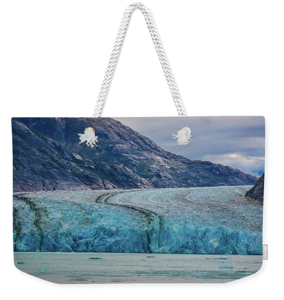Alaska Glacier Weekender Tote Bag