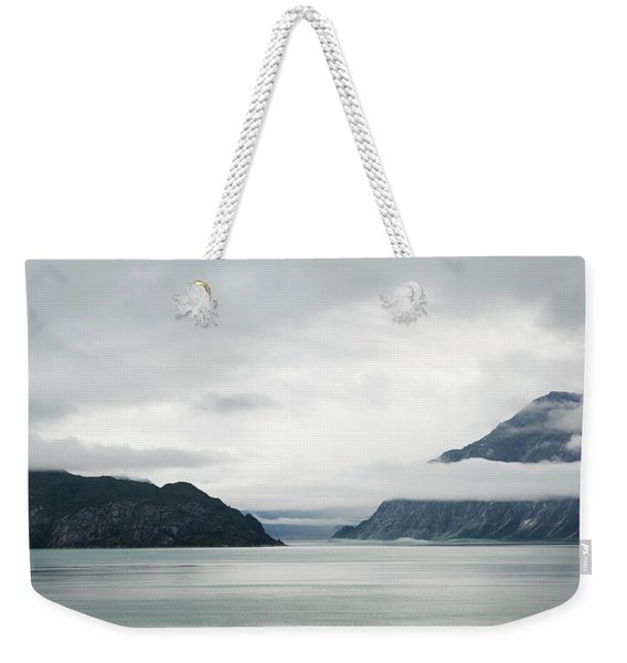 Alaska Waters Weekender Tote Bag