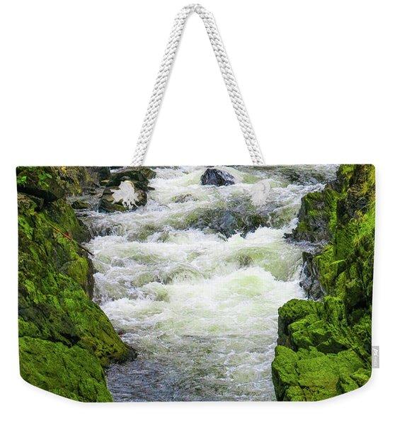 Alaskan Creek Weekender Tote Bag