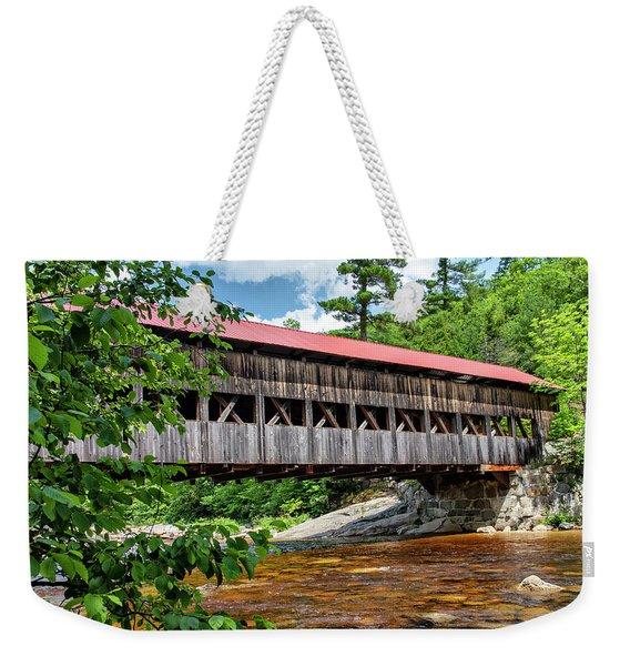 Albany Covered Bridge  Weekender Tote Bag