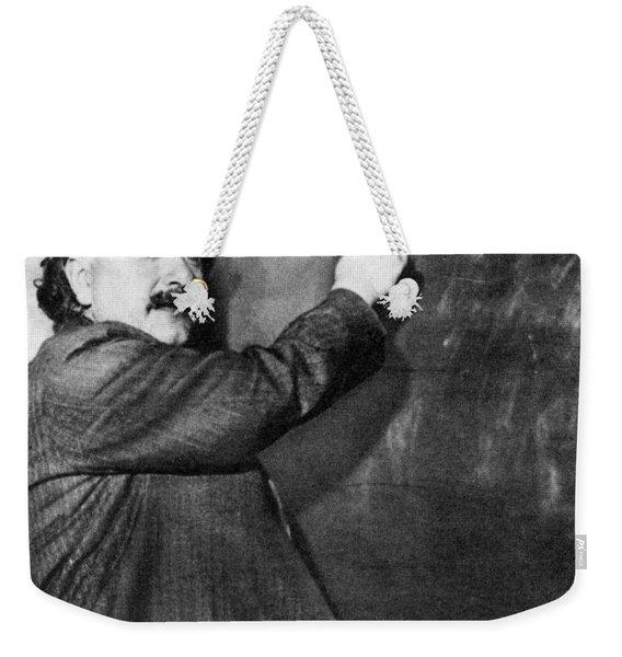 Albert Einstein Weekender Tote Bag