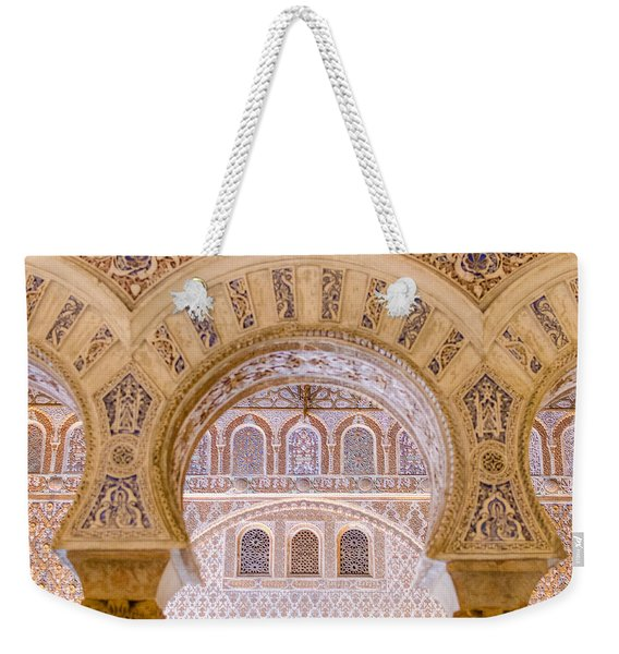 Alcazar Of Seville - Unique Architecture Weekender Tote Bag