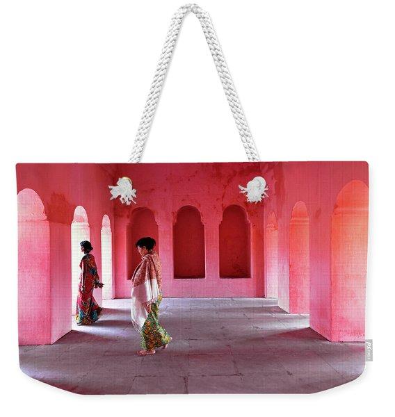 Alcoves Weekender Tote Bag