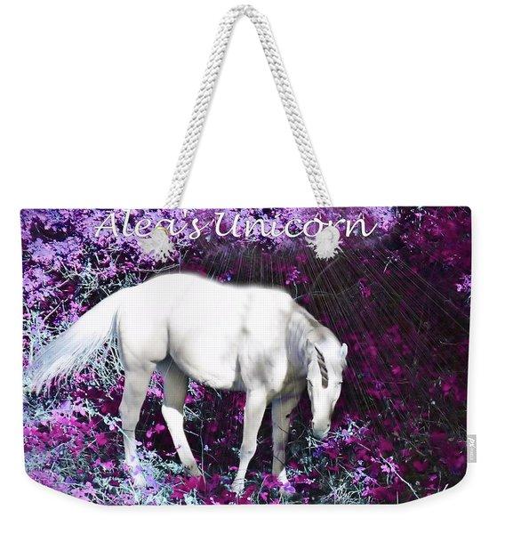 Alea's Unicorn  Weekender Tote Bag