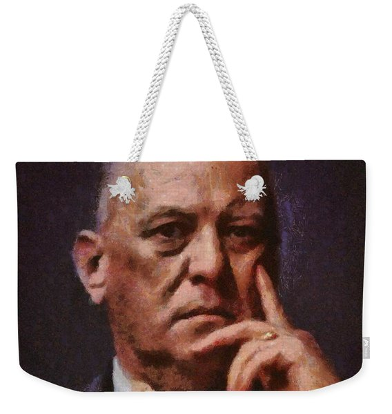 Aleister Crowley, Infamous Occultist Weekender Tote Bag