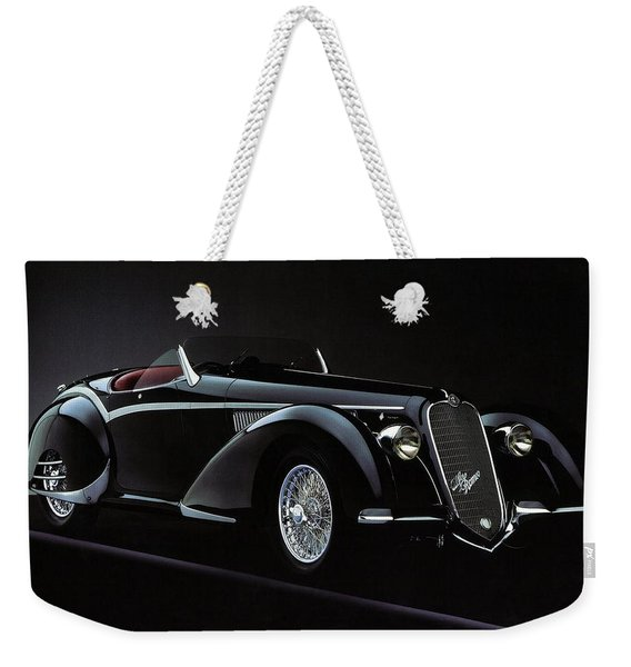 Alfa Romeo 8c 2900 Mercedes Benz Weekender Tote Bag