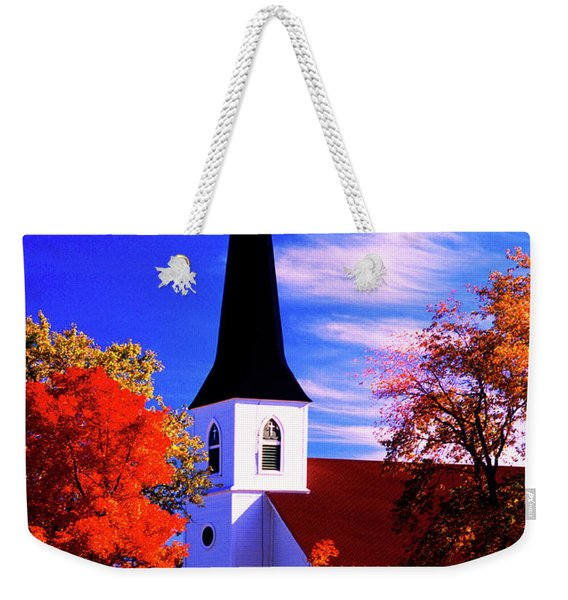 Algonquin Rd Church St Johns United  Weekender Tote Bag