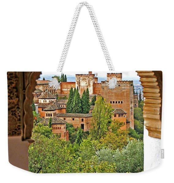 Alhambra - Granada, Spain Weekender Tote Bag