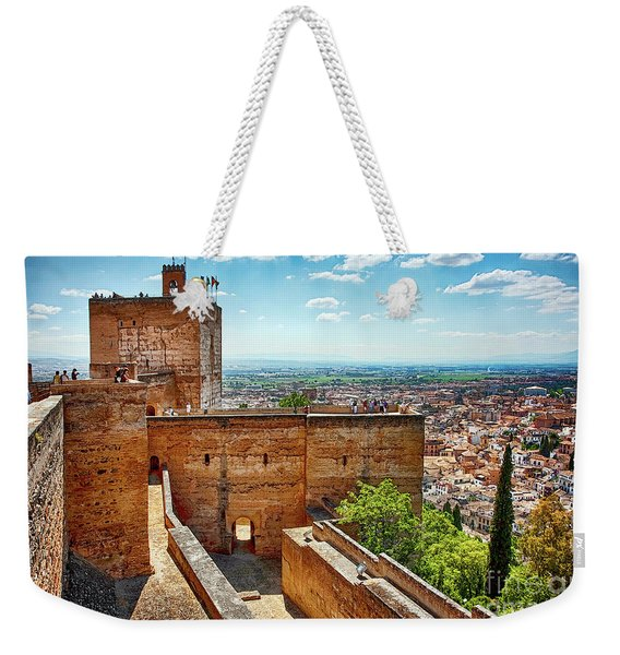Alhambra Tower Weekender Tote Bag