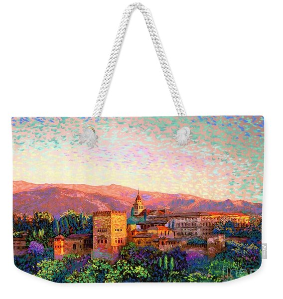Alhambra, Granada, Spain Weekender Tote Bag