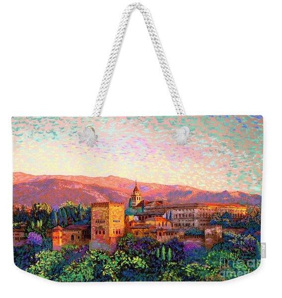 Alhambra, Granada, Spain Weekender Tote Bag