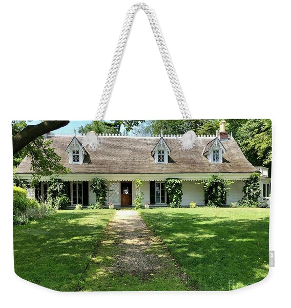 Alice Austen House Weekender Tote Bag