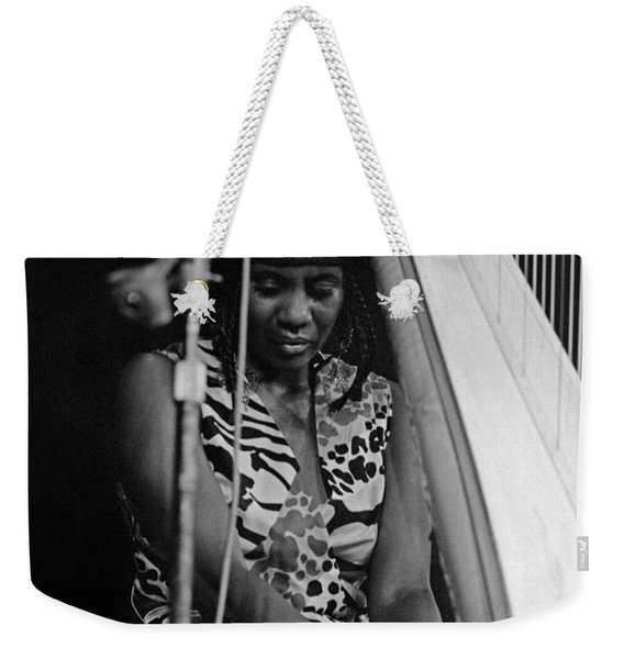 Alice Coltrane Weekender Tote Bag