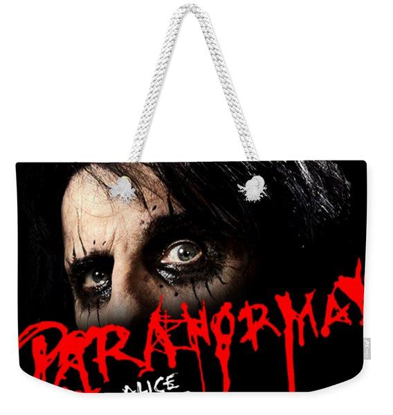 Alice Cooper Paranormal Face Weekender Tote Bag