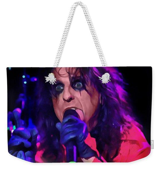 Alice Cooper Weekender Tote Bag
