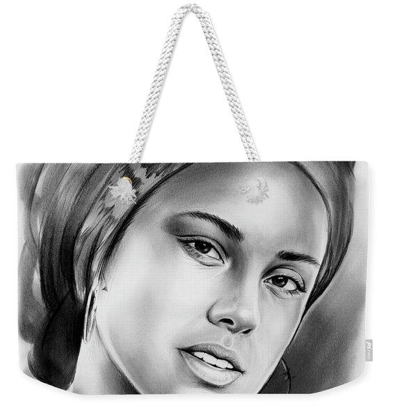 Alicia Keys 2 Weekender Tote Bag