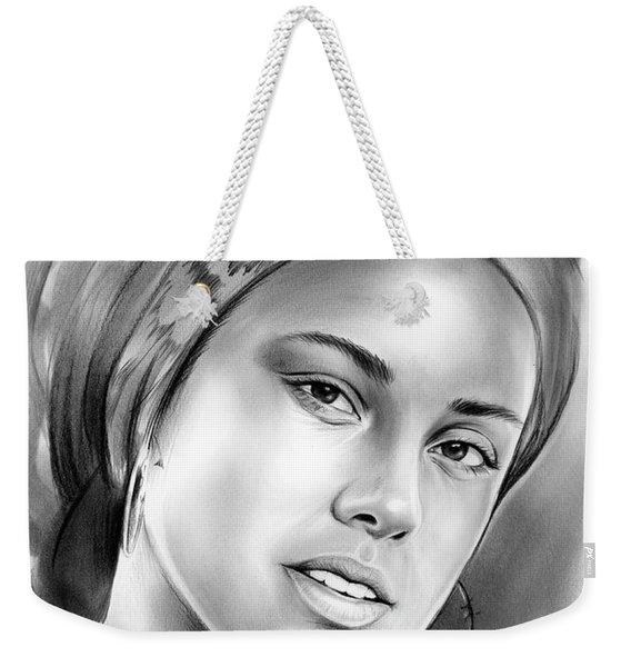 Alicia Keys Weekender Tote Bag