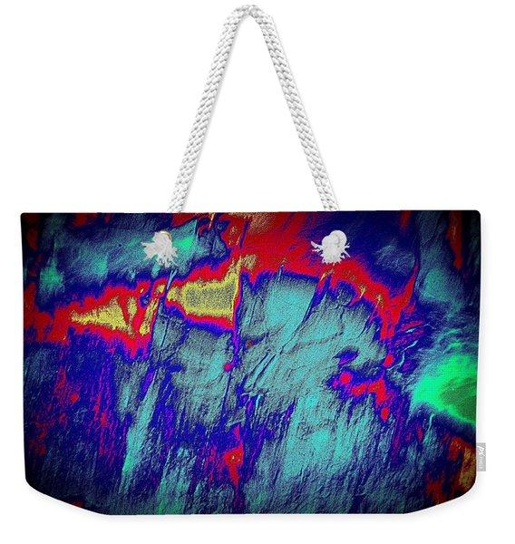 Alien Aura Weekender Tote Bag