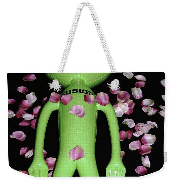 Alien Beauty Weekender Tote Bag
