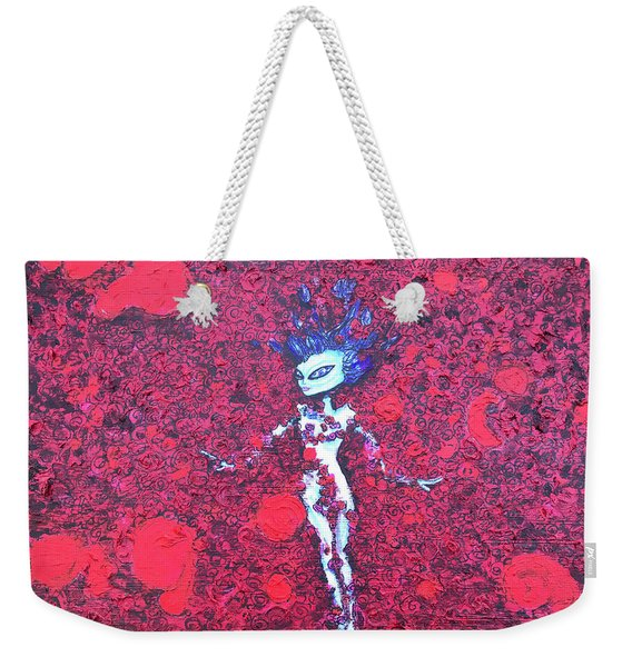 Alien Beauty Weekender Tote Bag