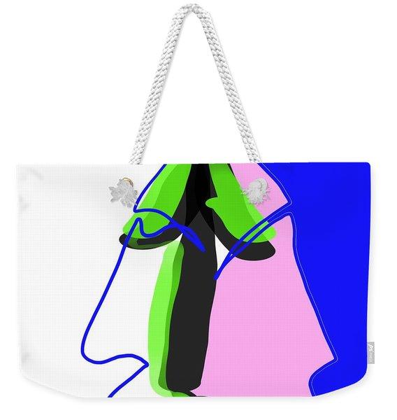 Alien Weekender Tote Bag