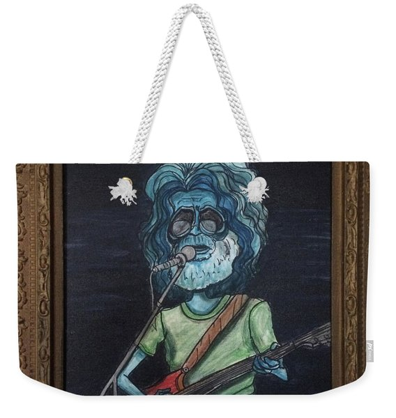 Alien Jerry Garcia Weekender Tote Bag