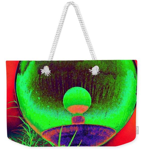 Alien Orb Weekender Tote Bag