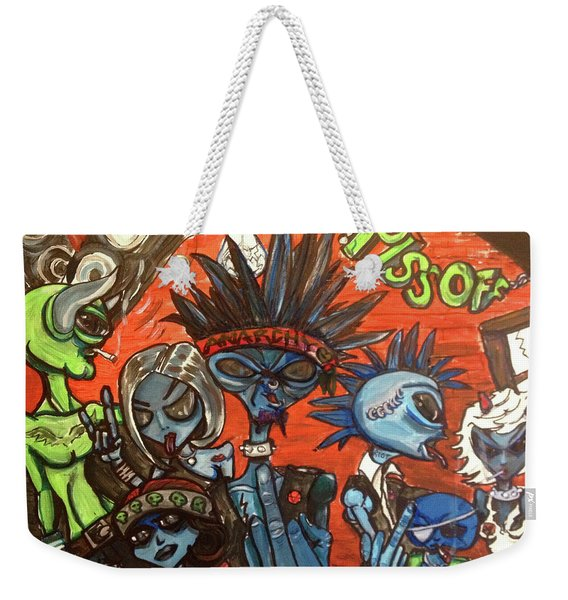 Aliens With Nefarious Intent Weekender Tote Bag