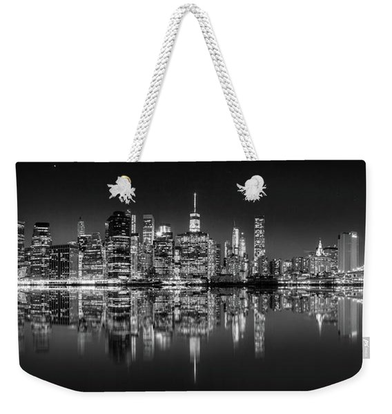Alive At Night Weekender Tote Bag