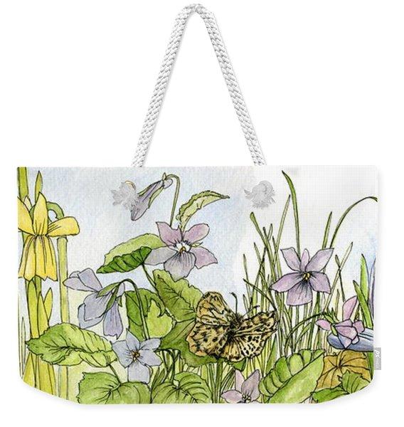 Alive In A Spring Garden Weekender Tote Bag