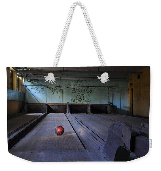All Alone Weekender Tote Bag