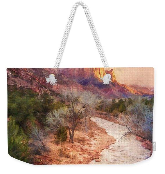 All Along The Watchtower Weekender Tote Bag