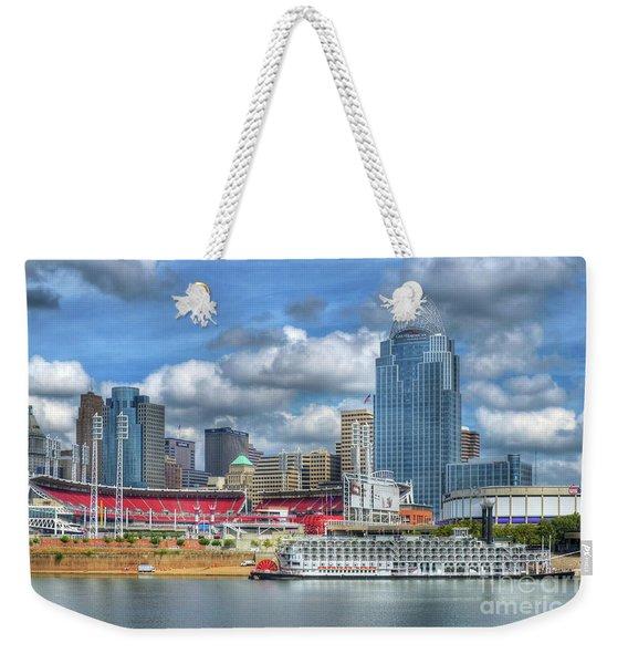 All American City Weekender Tote Bag