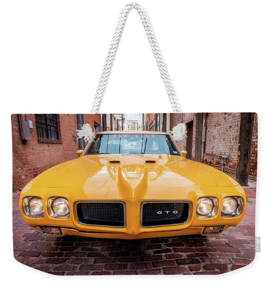 All American Muscle Weekender Tote Bag