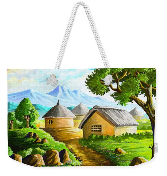 All Gone To Farm Weekender Tote Bag
