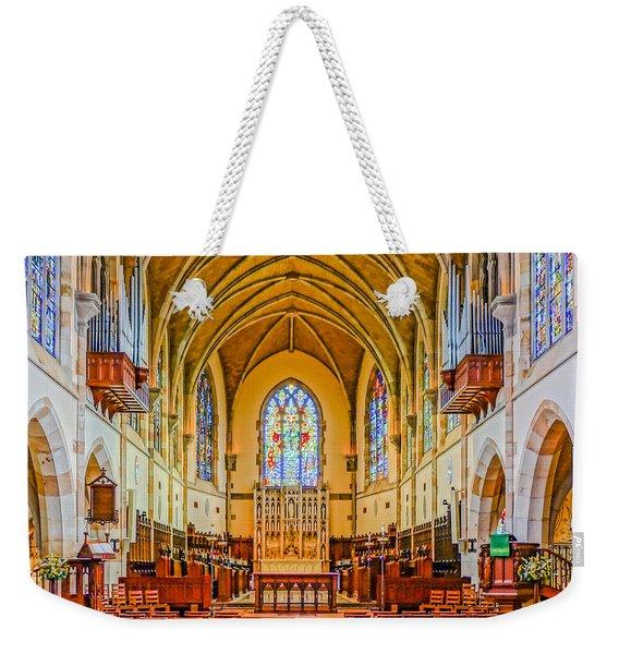 All Saints Chapel, Interior Weekender Tote Bag