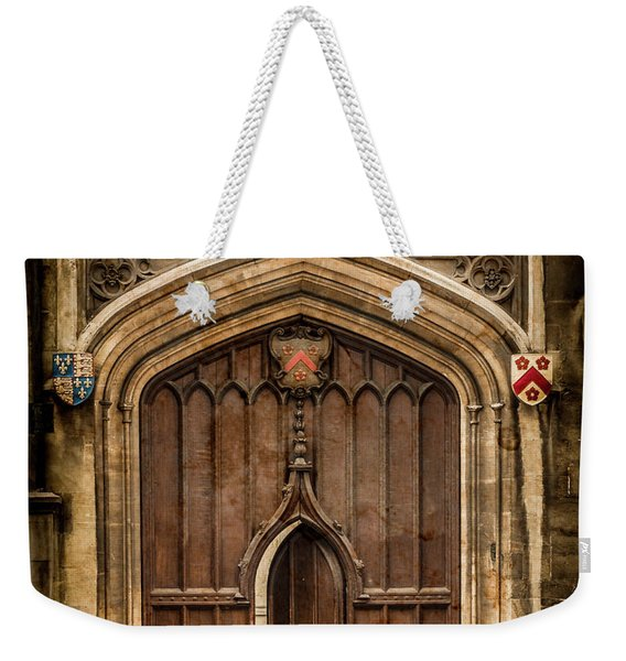 Oxford, England - All Souls Gate Weekender Tote Bag