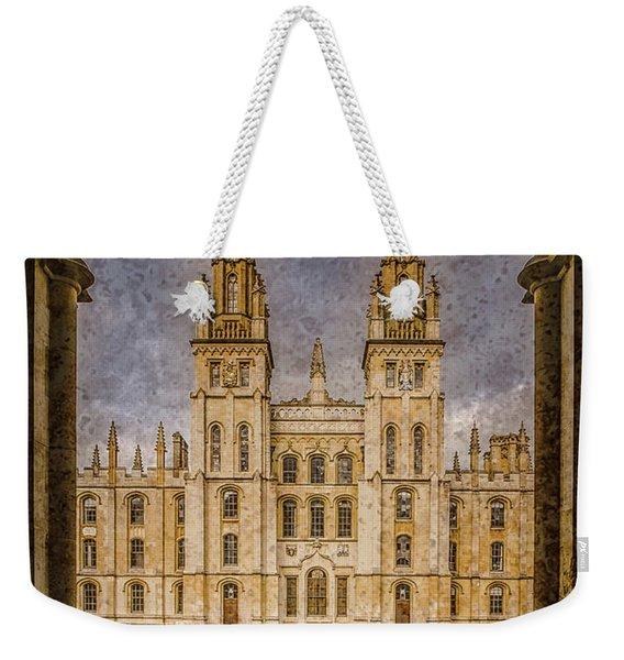 Oxford, England - All Soul's Weekender Tote Bag