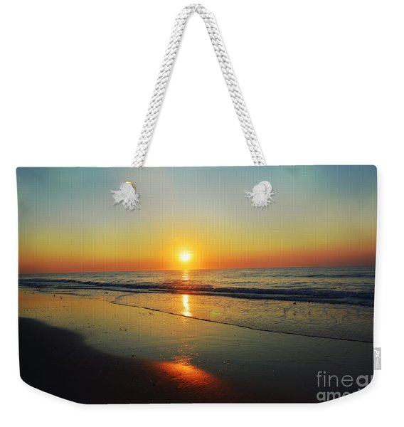 All That Shimmers Is Golden Weekender Tote Bag