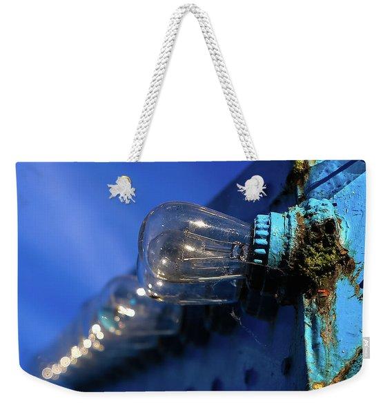 All The Blue Weekender Tote Bag