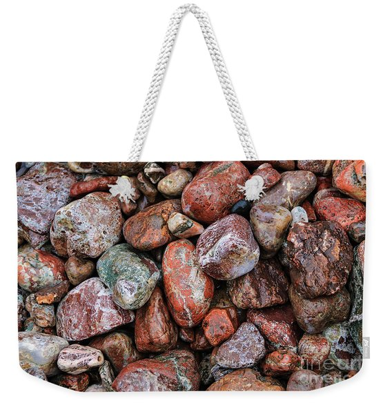 All The Stones Weekender Tote Bag